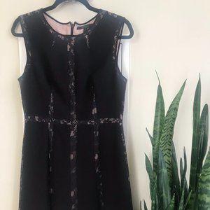 BCBG MaxAzria Black and Navy Dress